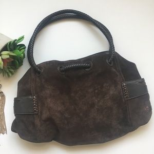 Cole Haan Brown Suede Leather bag